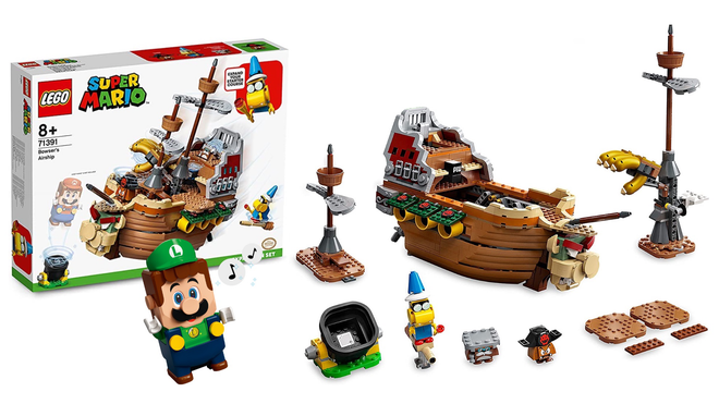 Bowser's Airship Could Be the Latest Set to Join LEGO's Super Mario Lineup