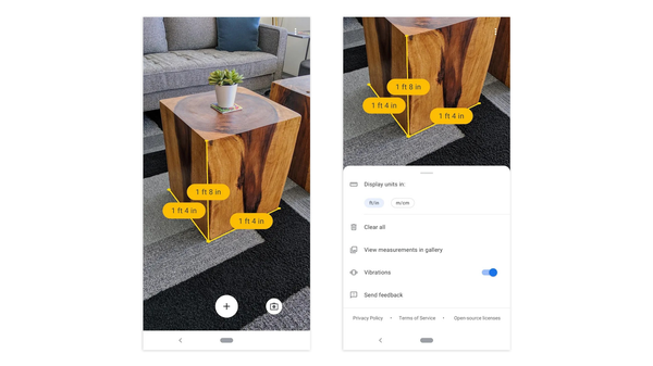 Google Ends Support for Its AR Measurement-Taking App