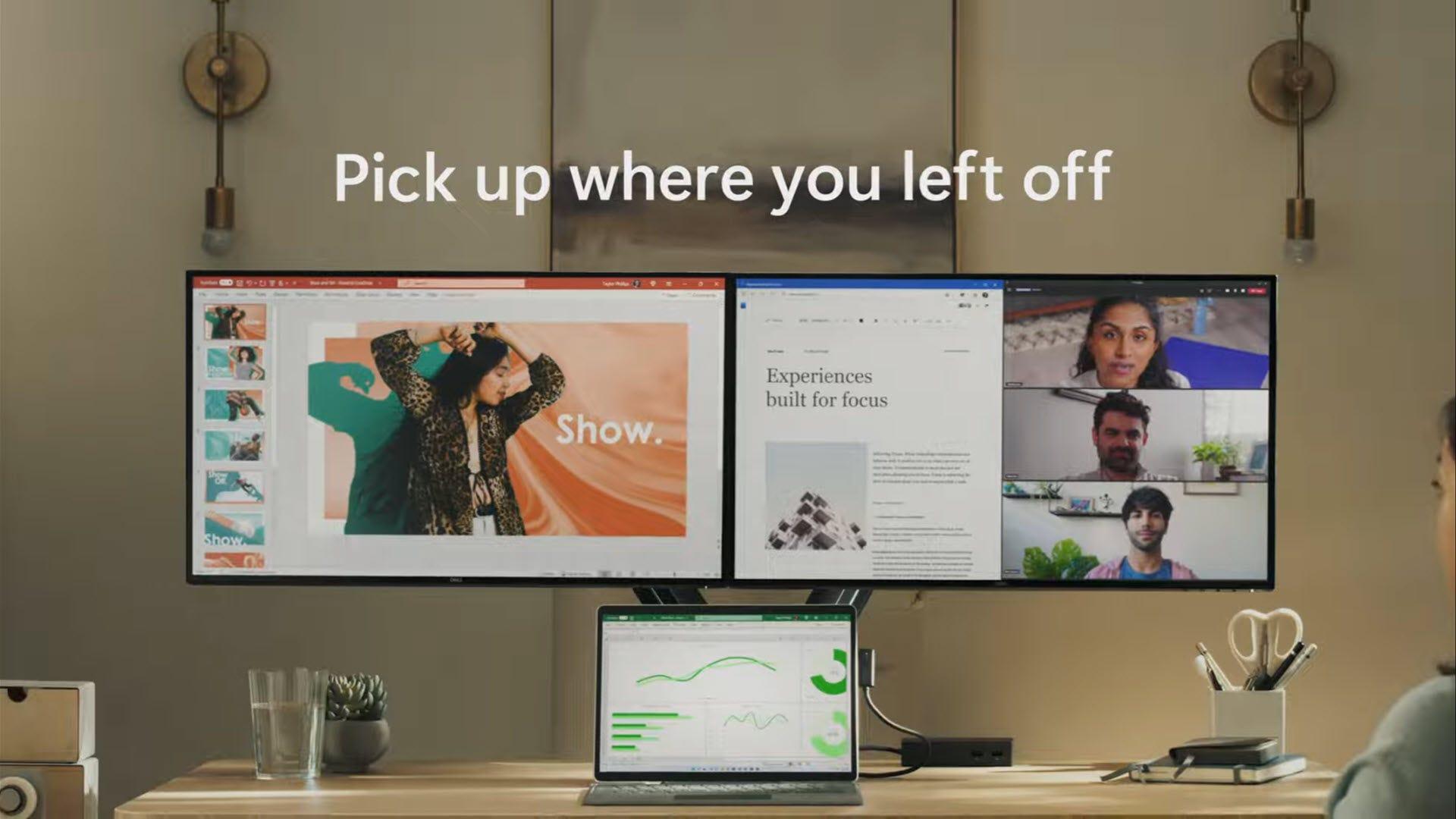 Windows 11 on multiple monitors
