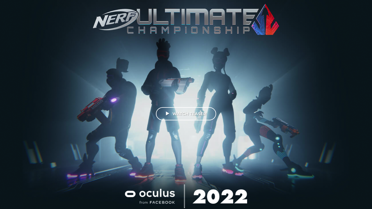 A banner for 'Nerf Ultimate Champinship'