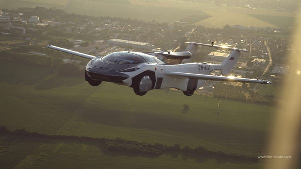 """The """"AirCar"""" Flying Car Completed a 35-Minute Test Flight, Then Drove Home"""
