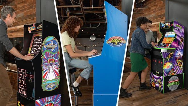 Arcade1Up's New Cabinet Lineup Takes the Fight Online with Free Wi-Fi Multiplayer