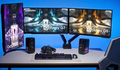 Samsung's New Odyssey Gaming Monitors Are Blessedly Flat