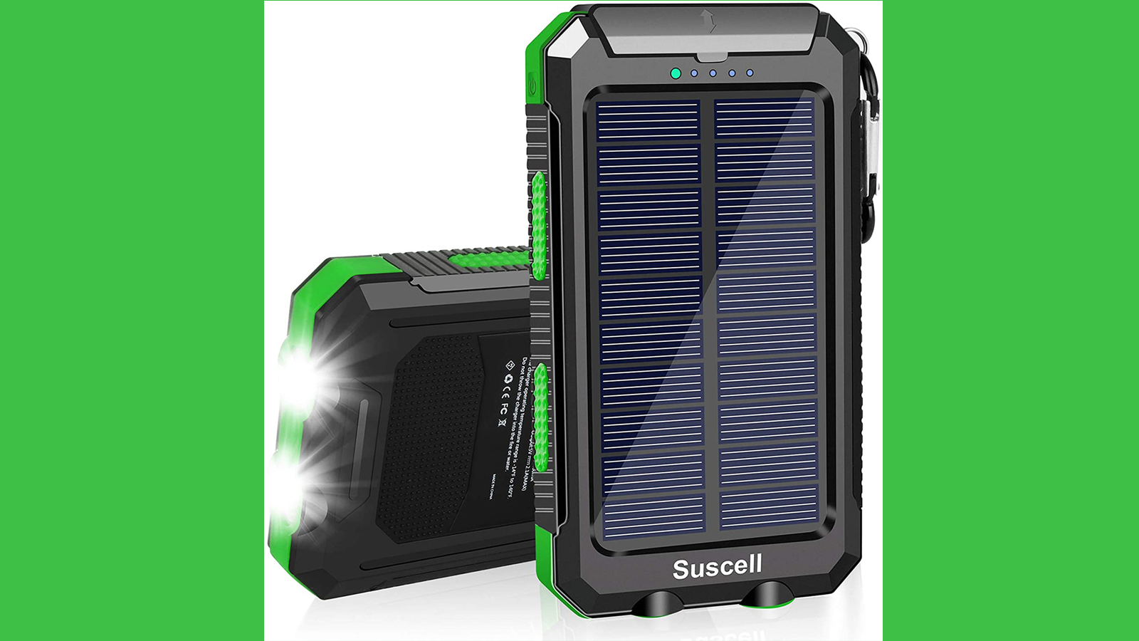 This Solar Power Bank Lets You Charge Your Devices Anywhere You Go