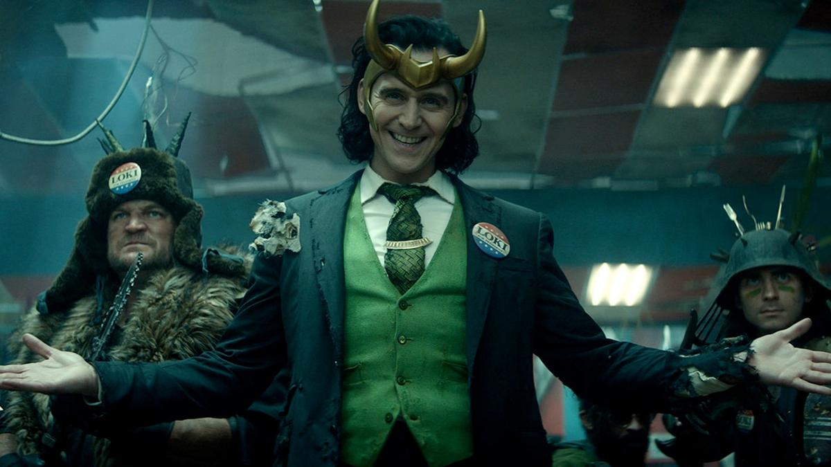 A photo of Loki from 'Loki'