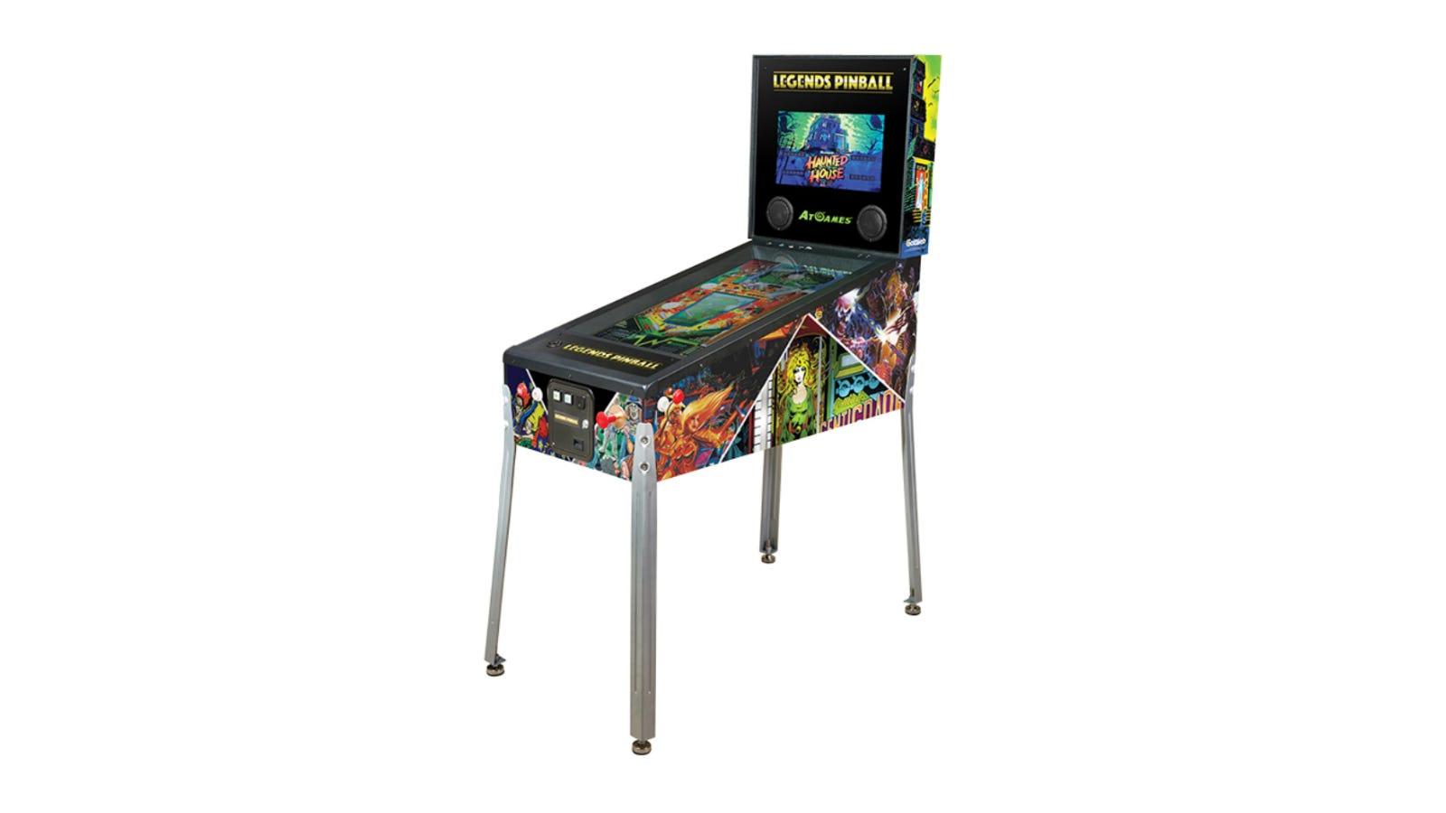 AtGames Legends Pinball machine