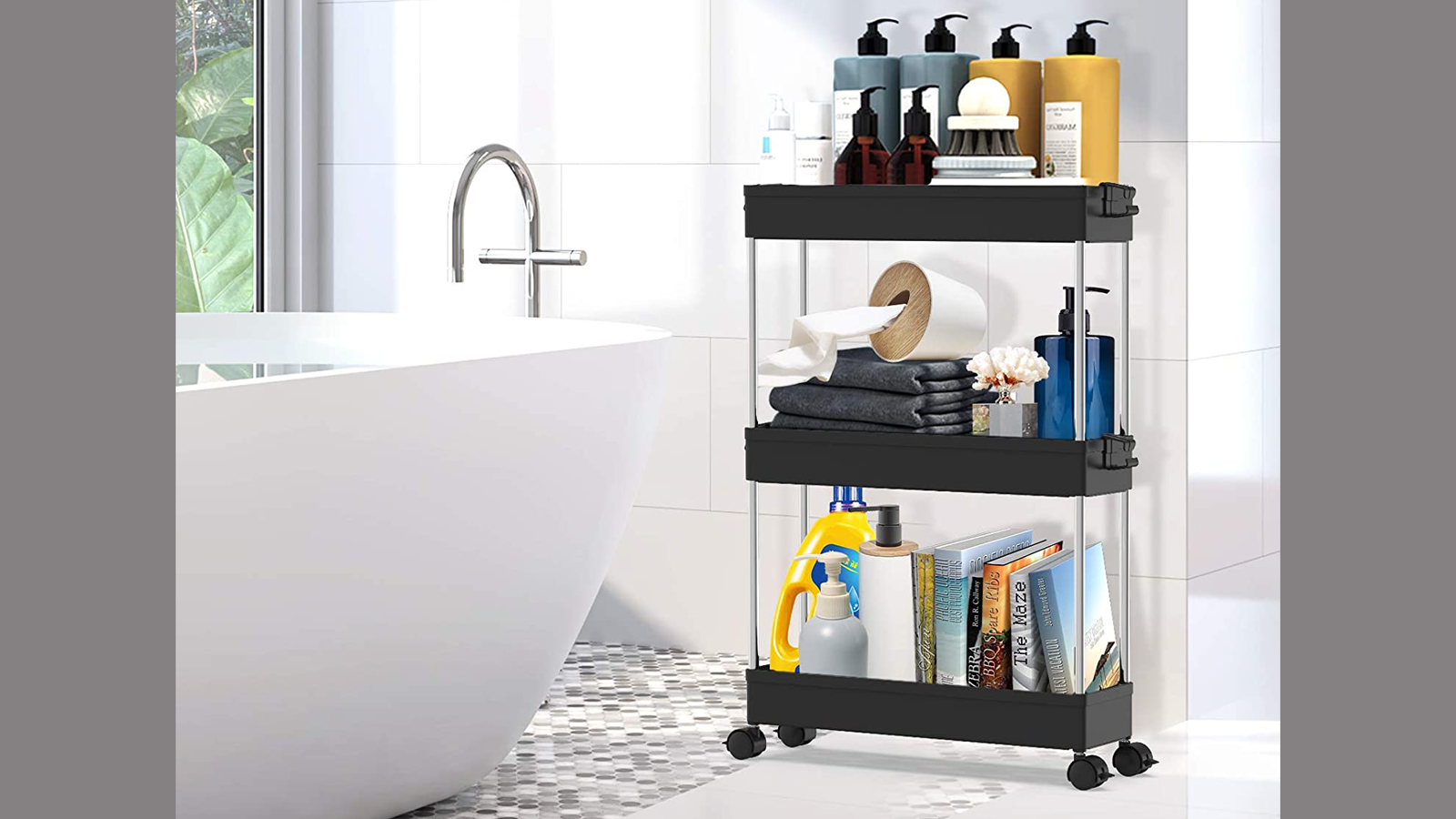 This Slim Storage Cart Offers Up a Thicc Storage Solution