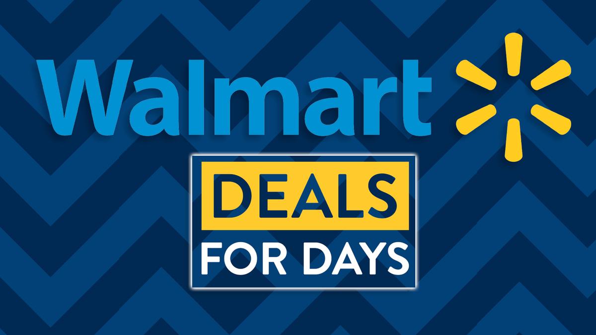 Un banner di Walmart Deals for Days.