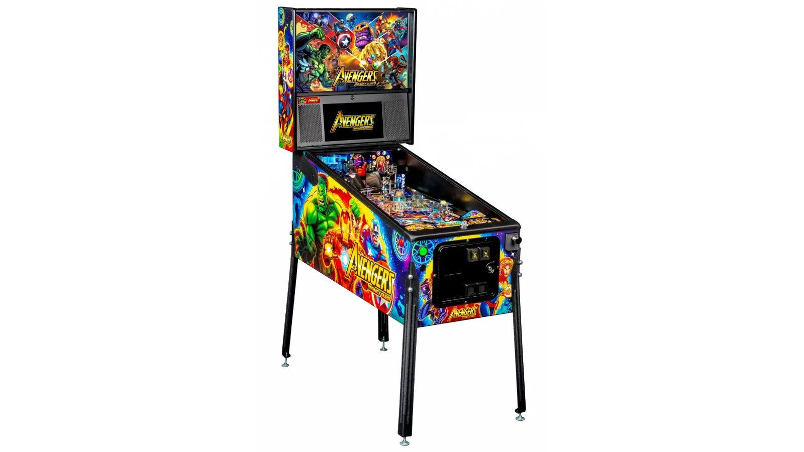 Avengers Infinity Quest Stern Pinball machine