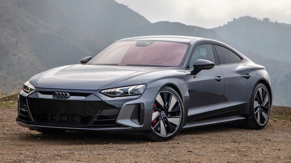 Audi's Sleek e-Tron GT Electric Car Hits the U.S. for $100k