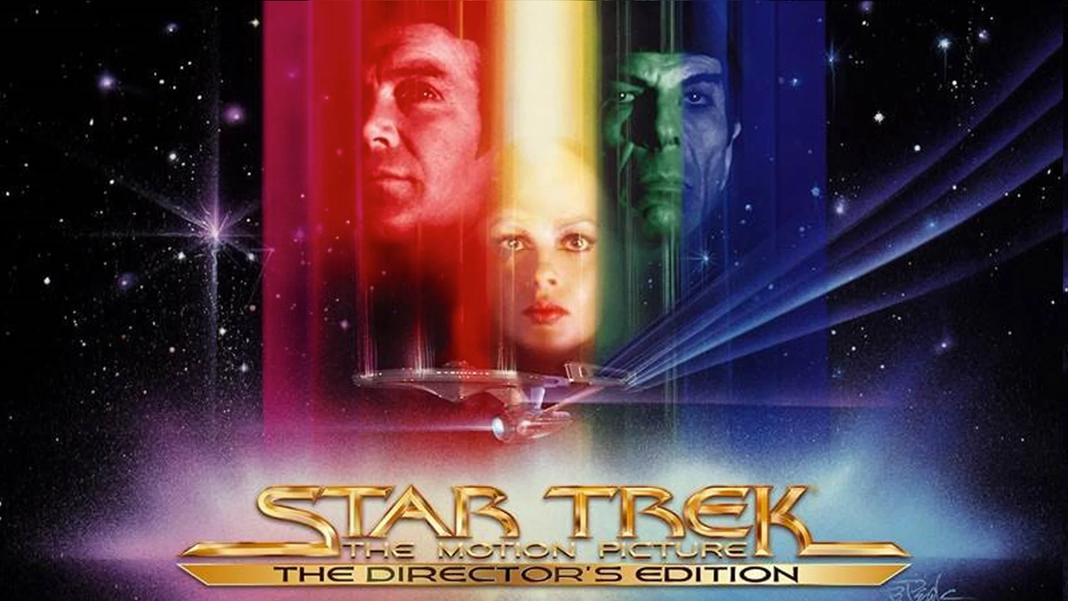 Star Trek: The Motion Picture Directors Edition cover art.