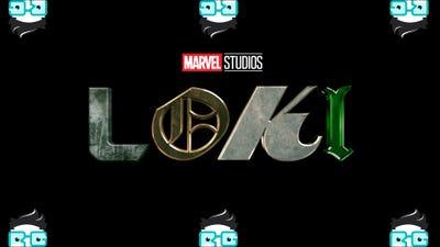 Il logo Loki circondato da sei loghi Review Geek