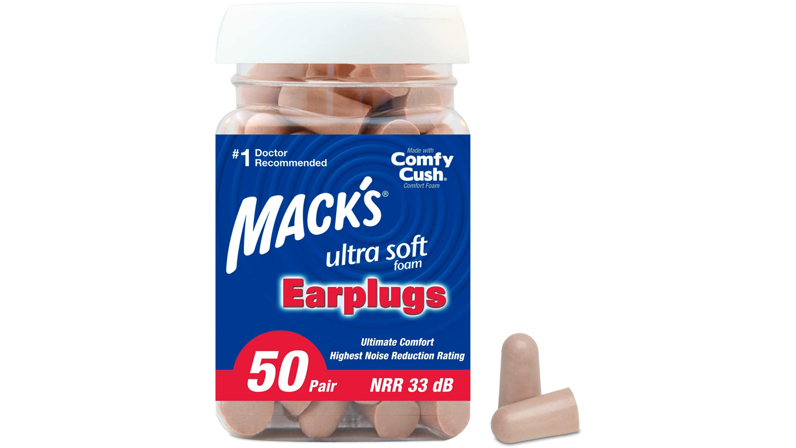 Let These Multipurpose Ultra-Soft Earplugs Help You Get a Quiet Night's Sleep