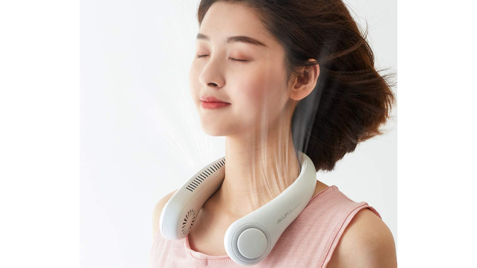 This Hands-Free Portable Neck Fan is a Seriously Cool Idea