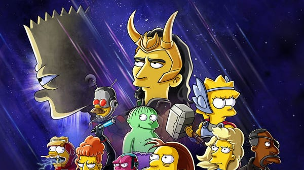 Loki and Bart Become Ultimate Chaos Partners in The Next 'The Simpsons' Short