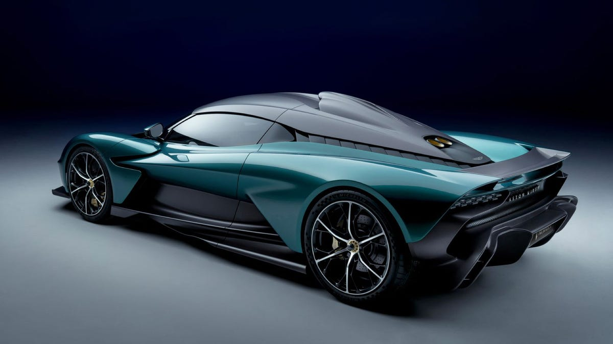 Aston Martin Valhalla Hybrid supercar