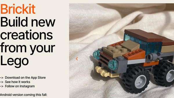 This iOS App Scans Your LEGO Pile and Shows You What You Can Build
