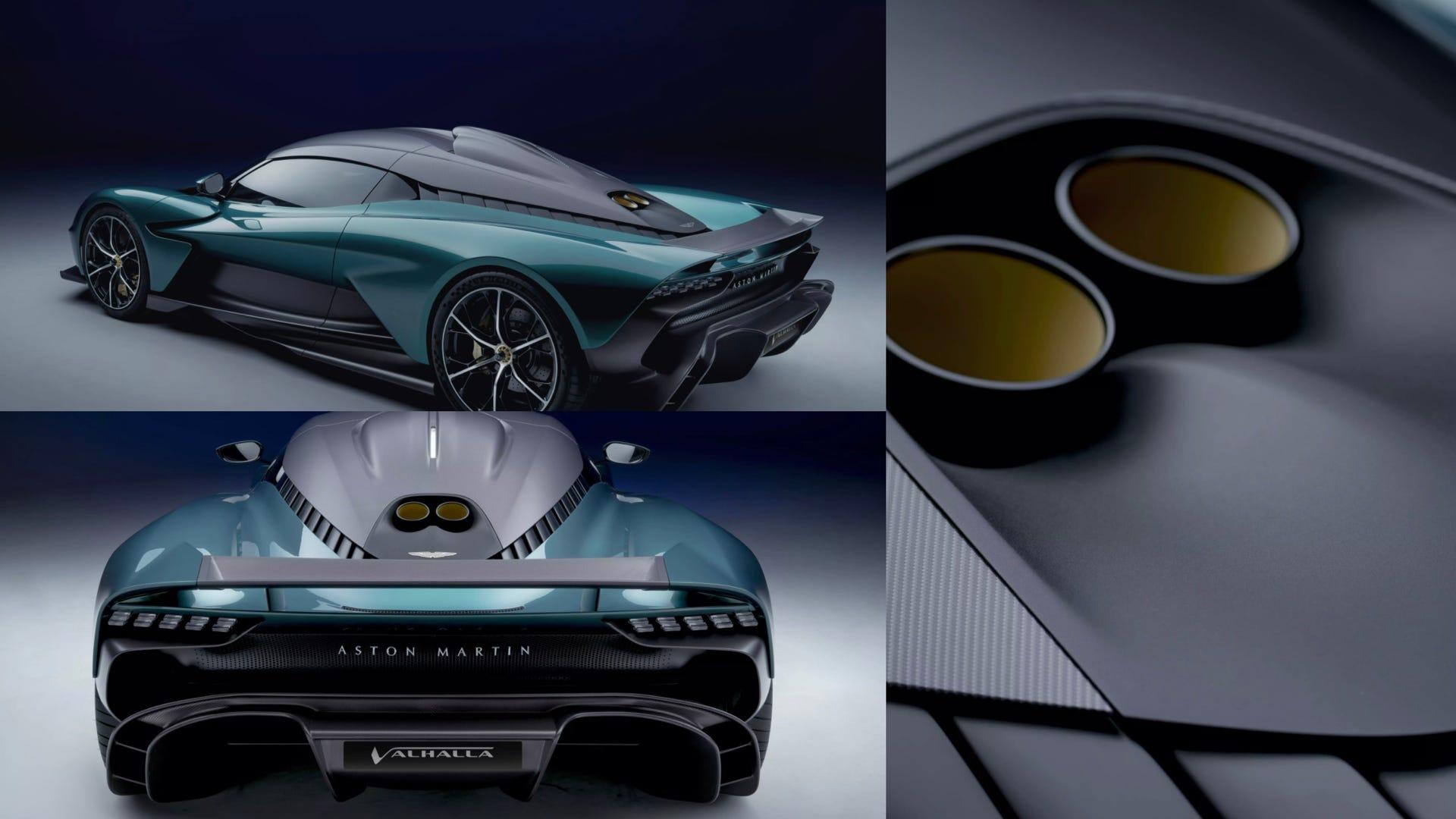 Aston Martin Valhalla collage
