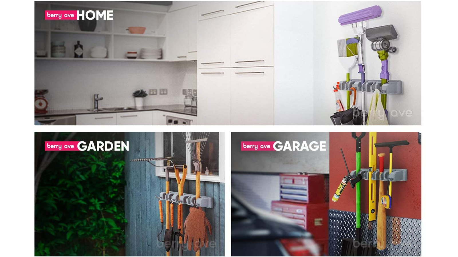 Keep Your Garden Tools in Place with This Wall Mounted Organizer
