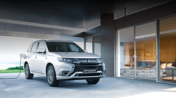Mitsubishi's New Plug-in Hybrid EV Will Haul Even the Largest of Families