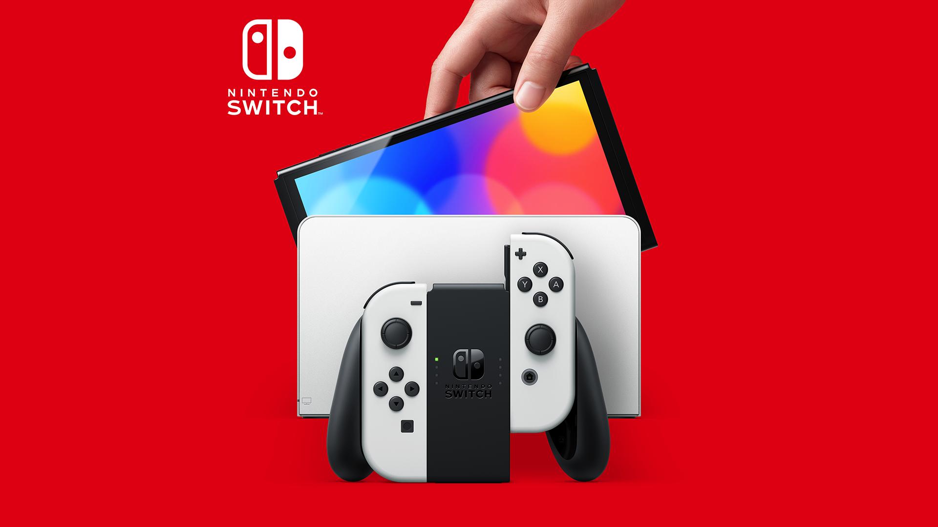 The Nintendo Switch OLED Model