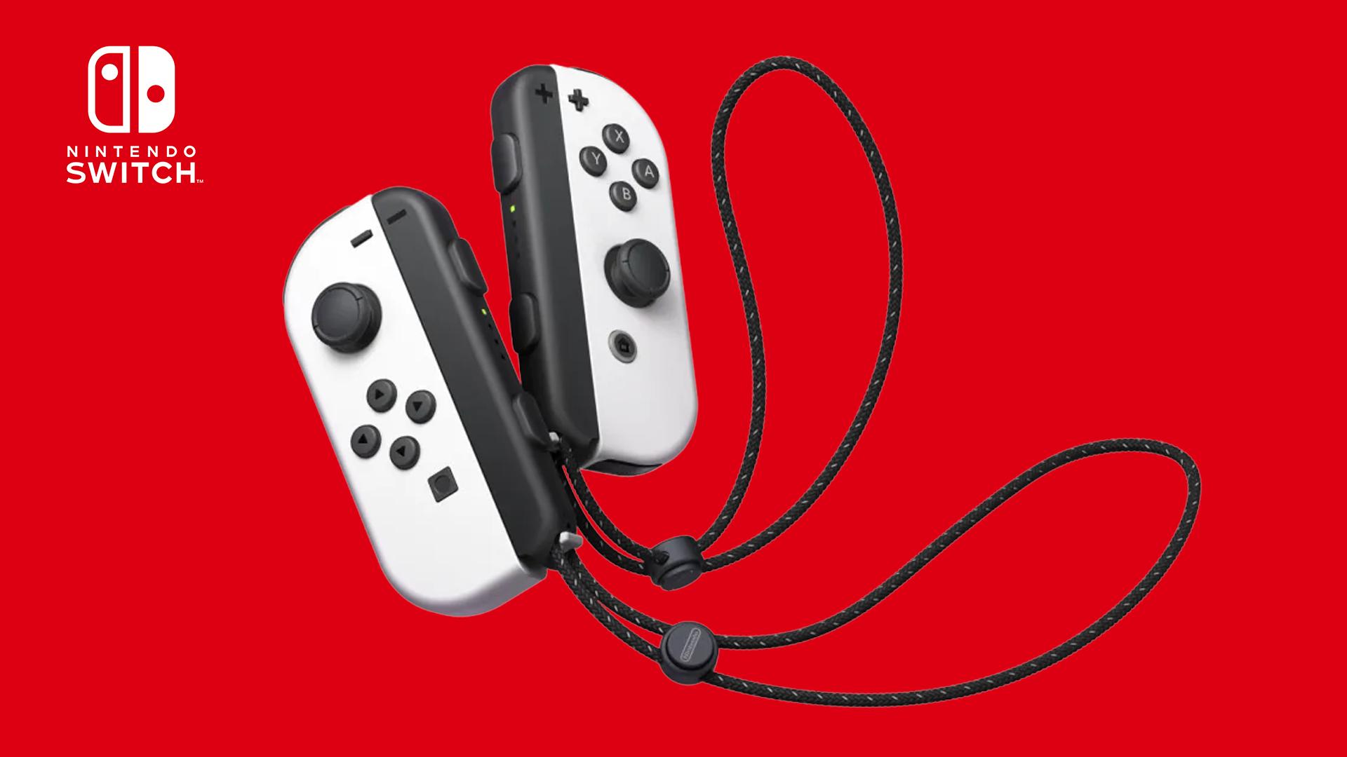 The Nintendo Switch OLED Model Joy-Cons