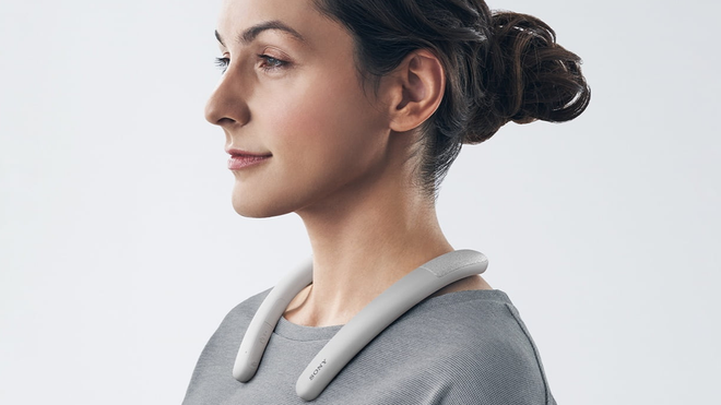 Sony Targets the Remote Work Crowd with a … Wireless Neck Speaker?