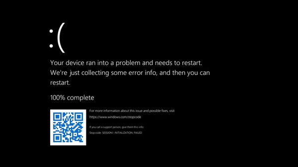 Microsoft Goes Goth: Windows 11's Blue Screen of Death Is Black