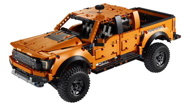 Truck Yeah: LEGO Announces New Technic Raptor and a Vintage Pickup Truck