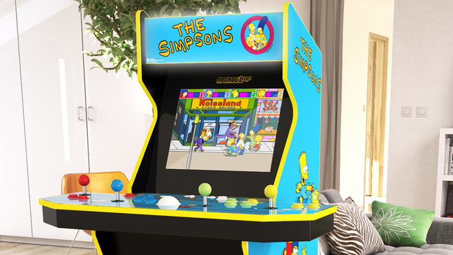 Arcade1Up Heads to Springfield With a New 'The Simpsons' Arcade