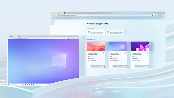 Microsoft's New Windows 365 Service Lets You Stream a Cloud-Based PC to Any Device