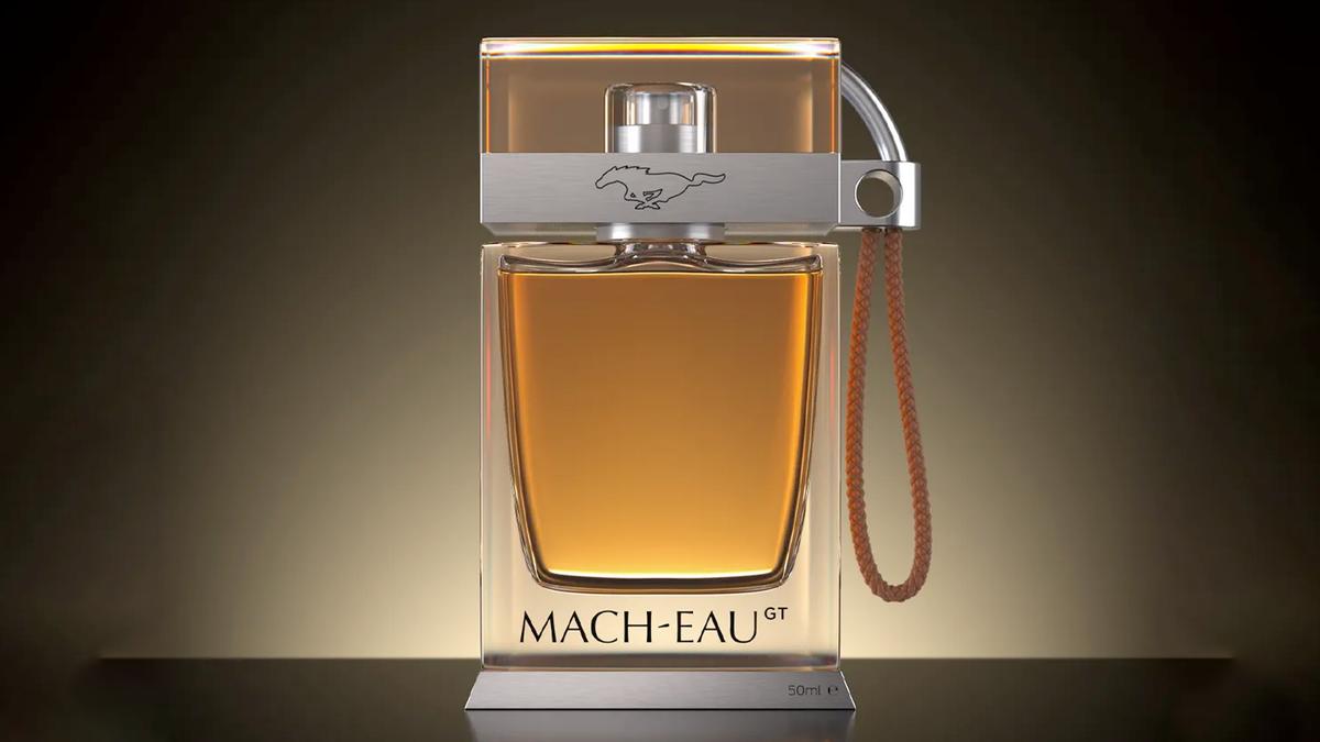 Ford's Mach-Eau GT perfume.