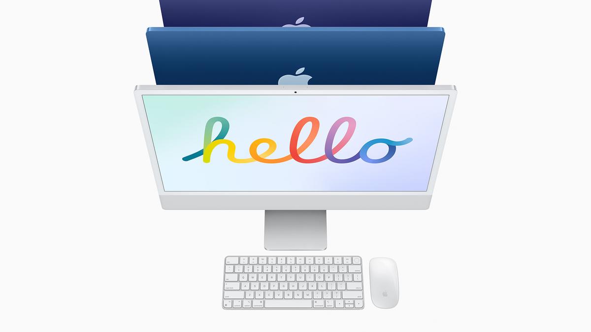 The 24-inch iMac.