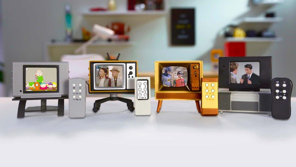Tiny working TVs