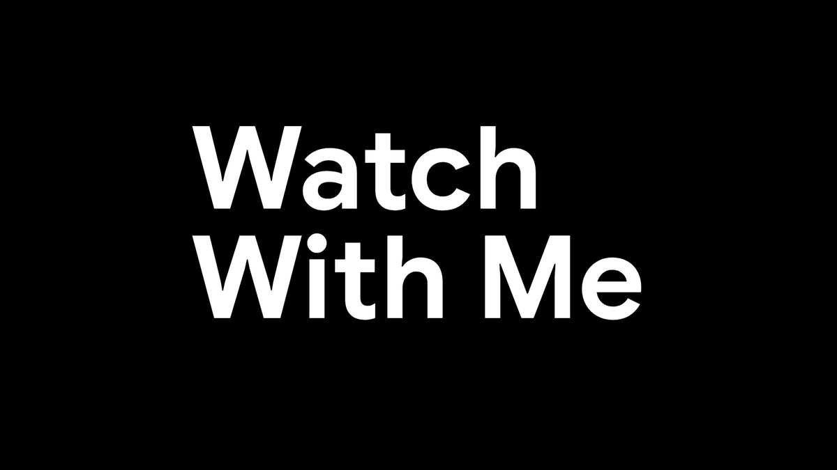 Google TV logo for Watch With Me series