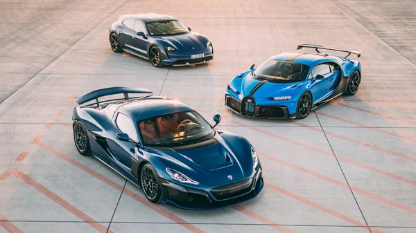 Bugatti Merges with Electric Supercar Startup Rimac