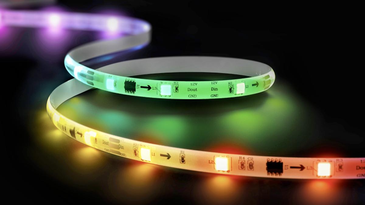 The Wyze Lightstrip Pro