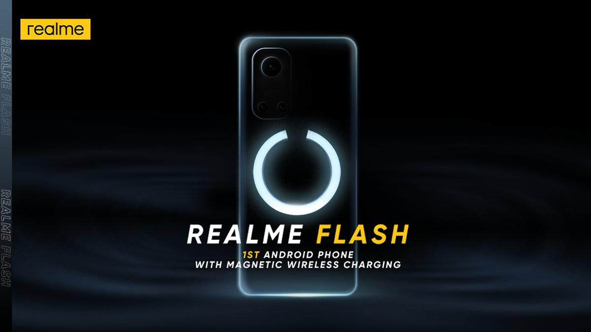 Realme's new MagDart image on black screen