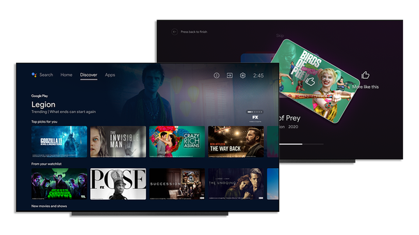 Android TV Gets a Universal Watchlist and Updated Discover Tab in Latest Update
