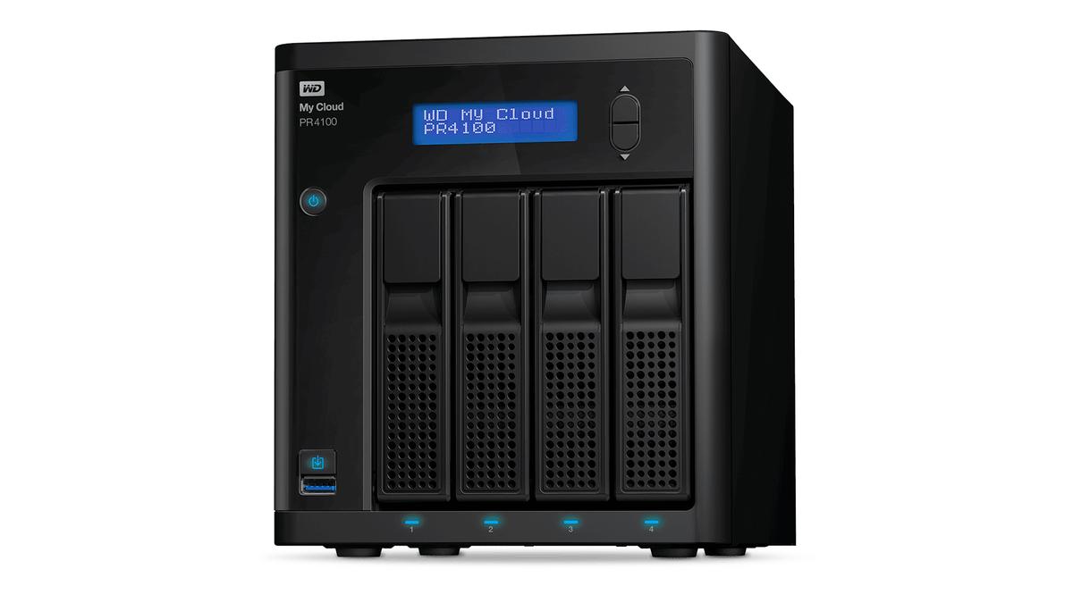 The WD My Cloud Pro PR4100