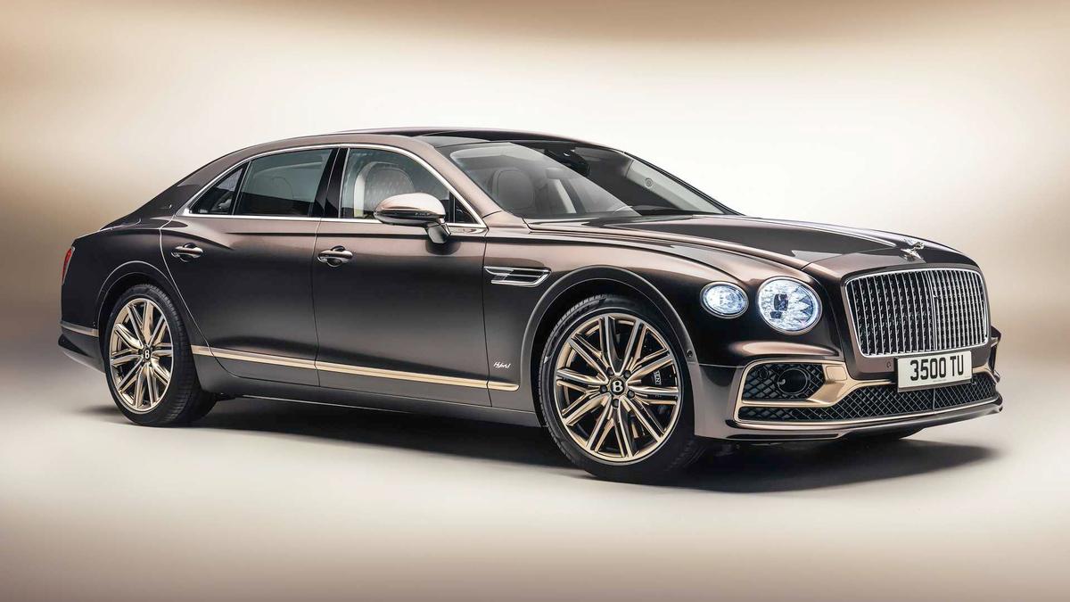 The Bentley Flying Spur PHEV Odyssean Edition
