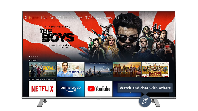 Amazon Extends 100-Person Watch Parties to Fire TV Devices