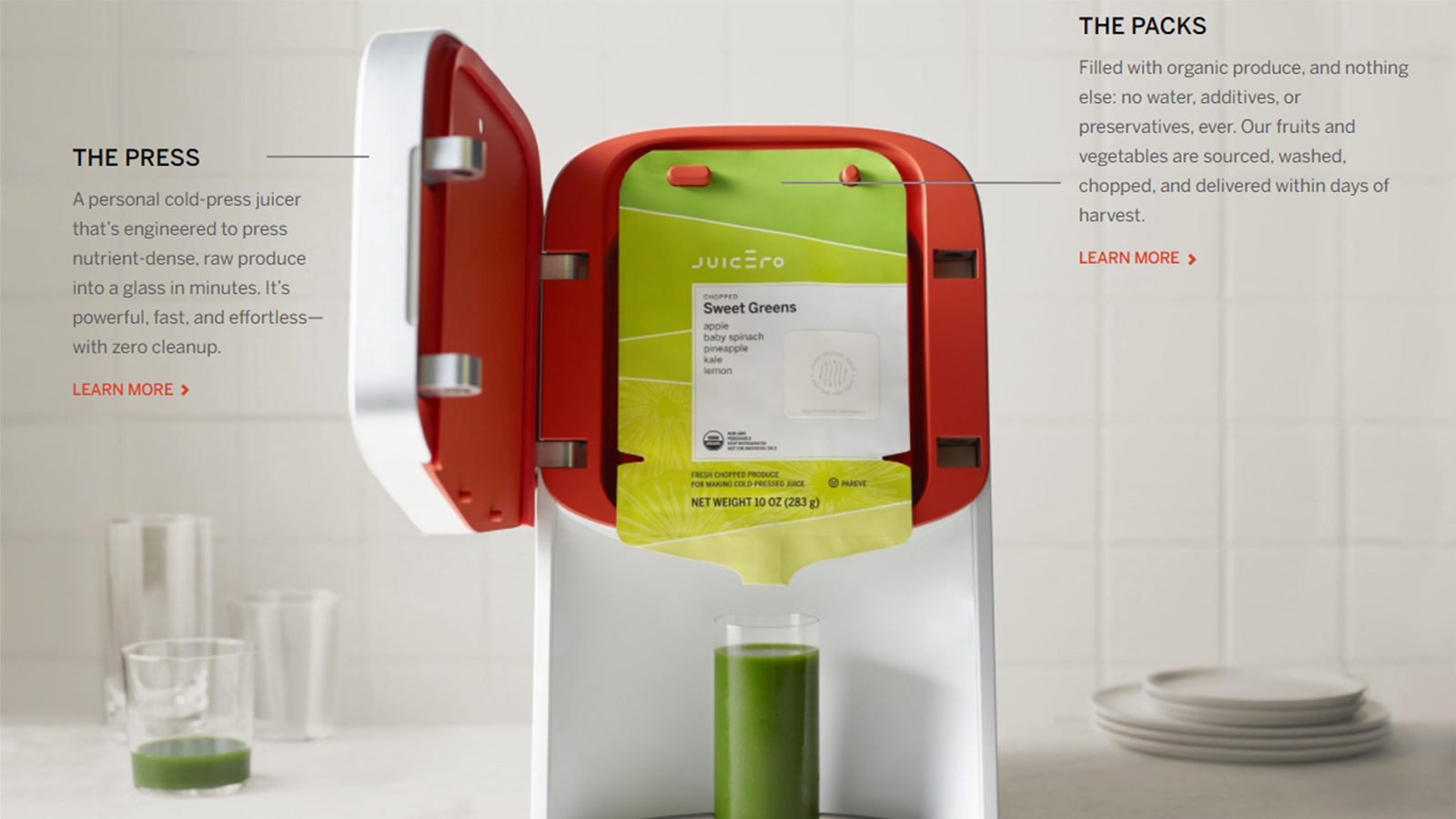 The Juicero with some annotations