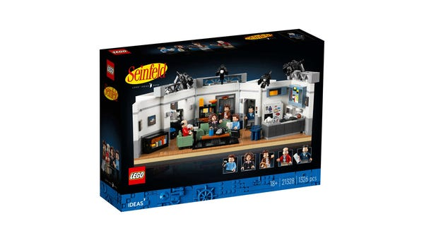 What's the Deal With This Seinfeld LEGO Set?