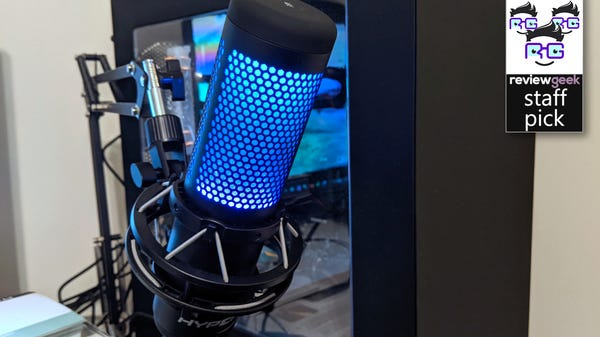 HyperX QuadCast S Review: More Than Just a Pretty Face