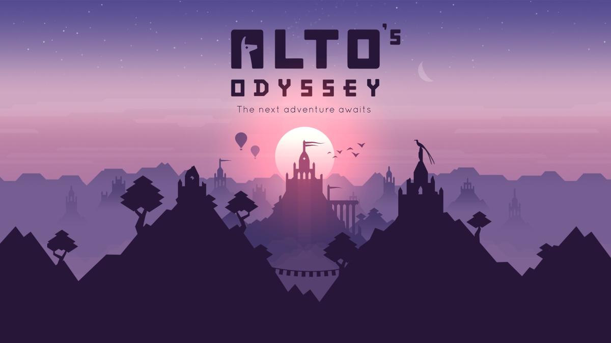 Alto's Odyssey game logo on developer website