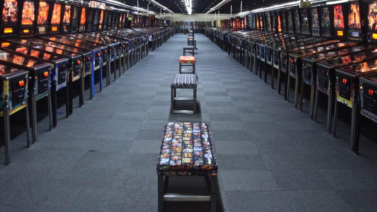 Museum of Pinball games