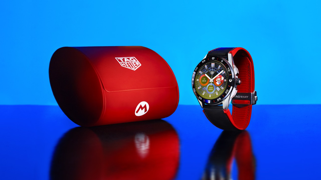 The TAG Heuer 'Super Mario' Wear OS Watch Will Cost You a Lot of Gold Coins