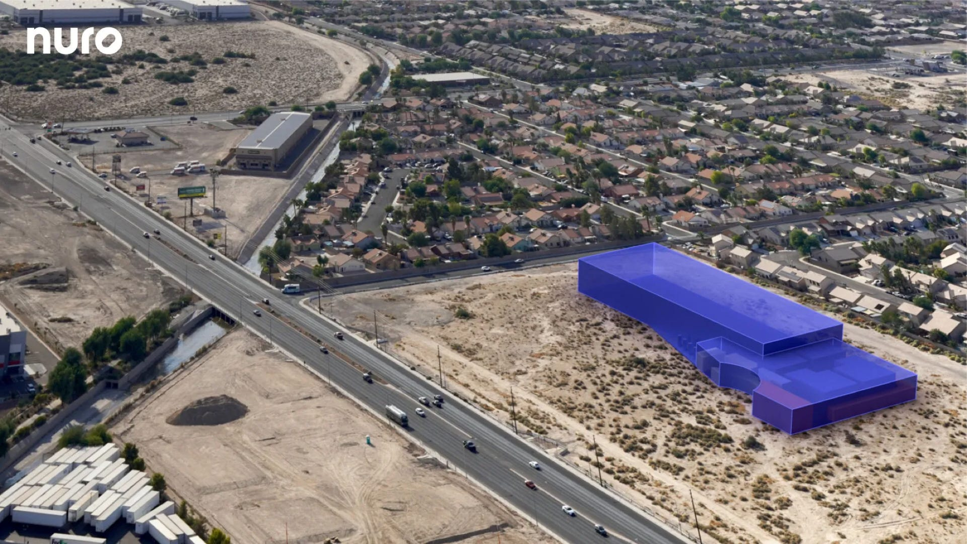 Nuro test site in Las Vegas