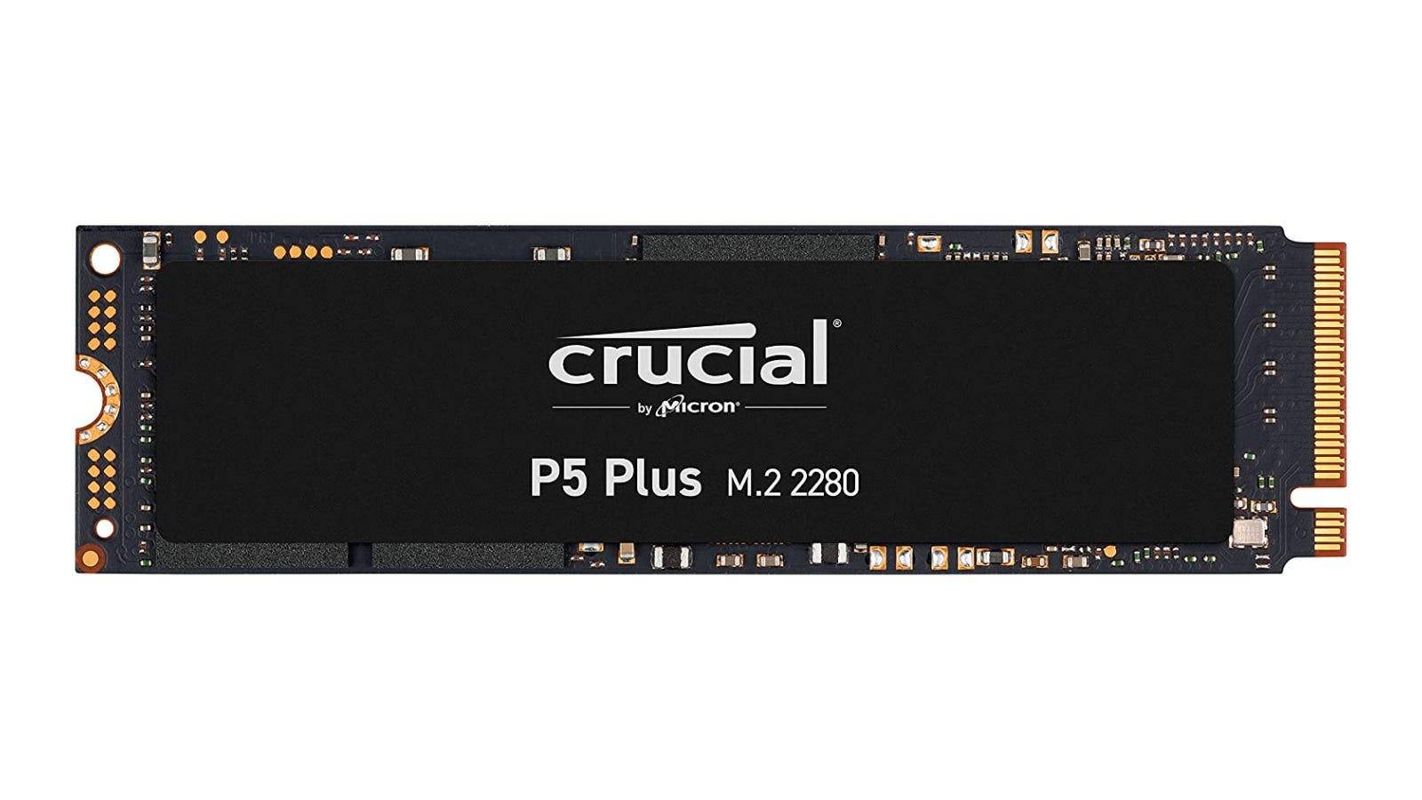 Crucial P5 Plus SSD